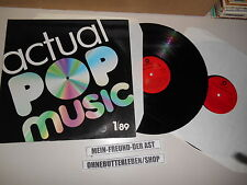 LP VA Actual Pop Music 1/89 2Disc (34 Songs) SONOCORD McKeown Roussos Bohlen