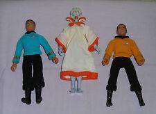 vintage Mego Star Trek CAPT. KIRK & THE KEEPER & BONES McCOY LOT