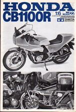 TAMIYA Original instructions booklet for 1/6 Honda CB1100R #16022