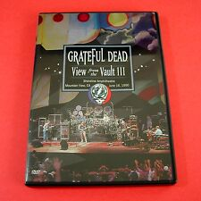 Grateful Dead View from the Vault III 3 Three DVD 1990 1987 Shoreline California