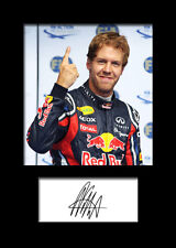 SEBASTIAN VETTEL #3 Signed Photo Print A5 Mounted Photo Print - FREE DELIVERY