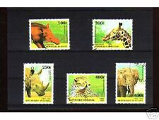 1040++GUINEE   SERIE TIMBRES  ANIMAUX SAUVAGES N°3