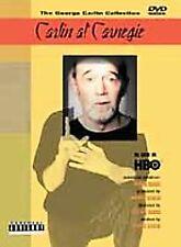 Carlin at Carnegie (DVD, 2001, Parental Advisory: Explicit Lyrics)