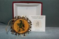 Hummel Gold Christmas Ornament Collection The Runaway 1988 w/ box