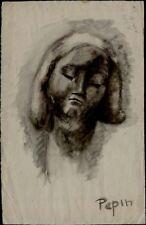 Dessins et lavis du XXe siècle et contemporains signés portrait, autoportrait