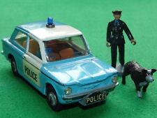 VINTAGE CORGI TOYS 506 SUNBEAM Imp Panda Polizia Auto Con Figure
