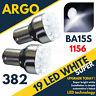 2X VAUXHALL VECTRA C/MK2 2.8 382 P21W 19-LED XENON REVERSE BULB WHITE LIGHT 343