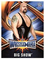2017 TOPPS WWE Road to Wrestlemania 33 ROSTER #22 BIG SHOW