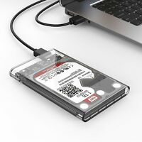 "ORICO USB 3.0 2.5"" 2139U3 Transparent 5Gbps Sata HDD Case Hard Drive Enclosure"