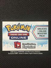 Pokemon BW Boundaries Crossed TCG online code card