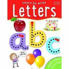 Learn to Write Letters by Miles Kelly Publishing Ltd (Paperback, 2014)