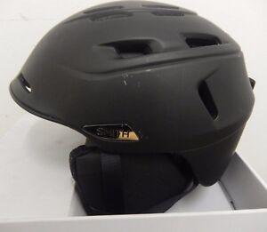Smith Camber Snowboard Ski Helmet, S, Charcoal