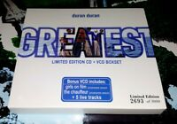 DURAN DURAN Greatest Limited Edition CD & VCD Box Set 2693 Of Only 3000!