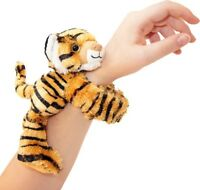 HUGGERS PLUSH TIGER SLAP BRACELET STUFFED ANIMAL TOY BY WILD REPUBLIC