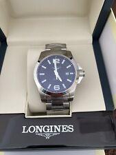 Mens Longines Conquest Automatic Watch BNIB