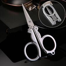 Portable Multi User Handy Pair of Scissors Folding Travel Pocket Stainless Steel