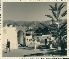 Espagne, La Palma, Vue générale Vintage print, Photographie provenant d'un