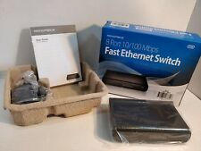 Mono Price (7854) Fast10/100 8 Port Ethernet Switch with Ac Adapter