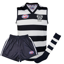 NEW Official Geelong Cats Auskick Pack (Guernsey, Shorts and Socks)