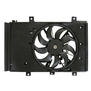 NEW DUAL RADIATOR AND CONDENSER FAN FITS TOYOTA YARIS IA 1.5L 2017 16360-WB001