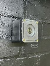 More details for single gang solid cast metal light switch industrial 2 way - bs en approved