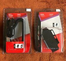 Verizon Wireless Vehicle Car Charger and Holster For Motorola V3C New in Package
