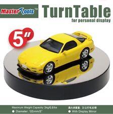 """Model Display Turntable, Mirror Top: 5"""" / 12.5 cm diameter (Trumpeter 09836)"""