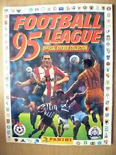 Panini 1995 Ligue de Football Sticker Album avec 462 signé stickers