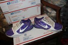 Nike Zoom Kobe 5 TB SAMPLE Purple WHITE MEN RARE SNEAKER SHOE 407710 - 511 SZ 13