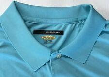 Men's NEW GREG NORMAN Size XXL SS Golf Tennis Softball Polo Shirt Teal (Topaz)
