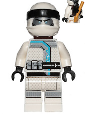 LEGO Ninjago Zane (Sons of Garmadon) Minifigure - with Clip + Harpoon on back