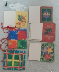 26 assorted Traditional card Christmas gift tags present wrapping labels
