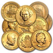 U.S. Mint 1 oz Gold Commemorative Arts Medal (Random) - Sku #8894