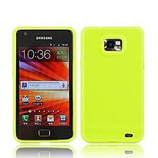 TPU Silikon Hülle für Samsung Galaxy S2 I9100 Handy Tasche Case Schutz SMG-01