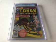 CONAN THE BARBARIAN ANNUAL 4 CGC 9.6 WHITE PGS BONDAGE COVER MARVEL COMICS
