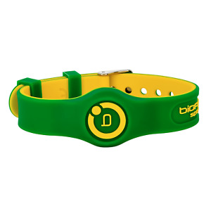 Bioflow Sport Flex Magnetic Therapy Wristband Green/Yellow - From Bioflow Direct