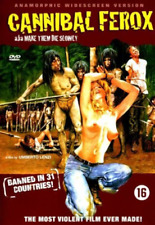 Cannibal Ferox - Dutch Import  (UK IMPORT)  DVD NEW