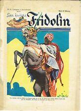 """""""DER HEITERE FRIDOLIN"""" Jugendzeitschrift Ullstein Verlag, 1927 / Nr. 4, 7. Jg."""