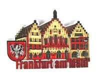Frankfurt Römer Germany Souvenir Magnet Rubber Kautschuk,flexibel,Neu