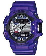 Casio G-Shock G'MIX Bluetooth Analogue/Digital Mens Purple Watch GBA400-2A GBA-4