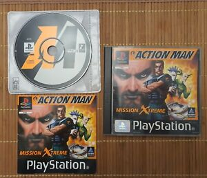 Sony Playstation 1 PS1 PAL OVP Action Man Mission Xtreme - Komplett
