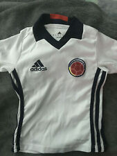 Colombia Team Soccer Jersey Toddler SIZE 1 Kids White