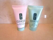 CLINIQUE 7 DAY SCRUB CREAM & MOISTURE SURGE OVERNIGHT MASK 1 OZ TUBES