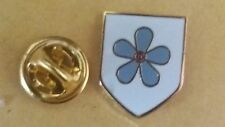 forget me not shield lapel badge masonry freemason masonic the craft freemasonry