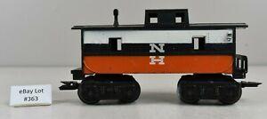 (Lot #363) O Gauge Marx Model Train Freight Car Plastic New Haven Caboose