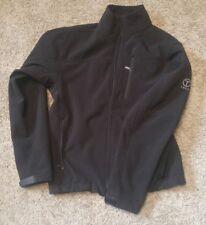 TUMI T TECH black Full Zip Coat Fleece lined Jacket Men S Modern Fit