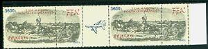 1997 Postal Wagon,Post Coach,Postillon,Horses,Romania,5262,MNH,TAB=Postal Plane