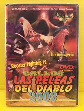 Gallos Las Peleas Del Diablo 2002 - DVD nuevo Con Musica 30 Corridos Norteños