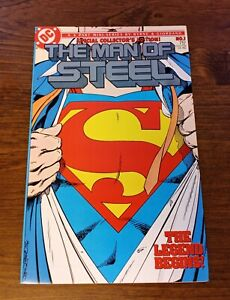 Man of Steel #1 (1986, DC) HIGH GRADE
