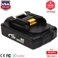 For Makita 18-Volt 18V LXT Compact Lithium-Ion Battery BL1815 BL1820B Drill Saw
